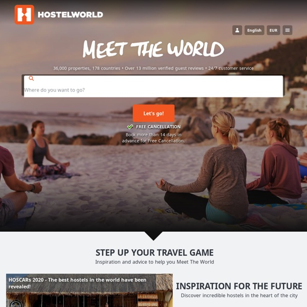 Hostels Worldwide - Online Hostel Bookings, Ratings and Reviews - StumbleUpon