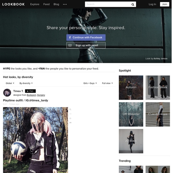 LOOKBOOK.nu: collective fashion consciousness.