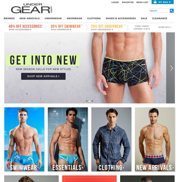 Undergear Discount Codes. If you're in search of Undergear coupons, you've come to the right place. You'll also find their latest sales so you can take advantage of nearly every offer in November that Undergear .