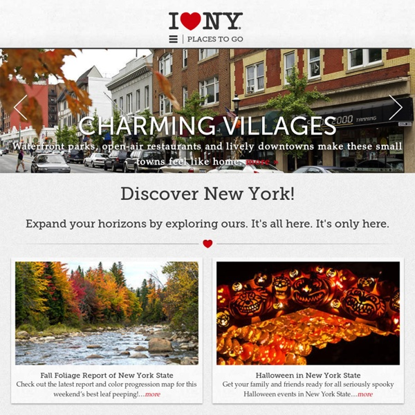 The Official New York State Tourism Site-Travel and Tourism Resources for the State of New York