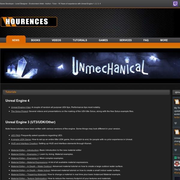 Hourences.com – Tutorials