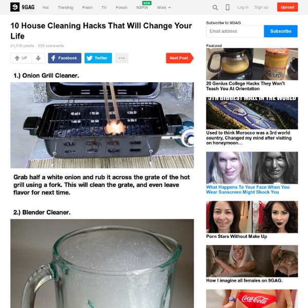 10 House Cleaning Hacks That Will Change Your Life