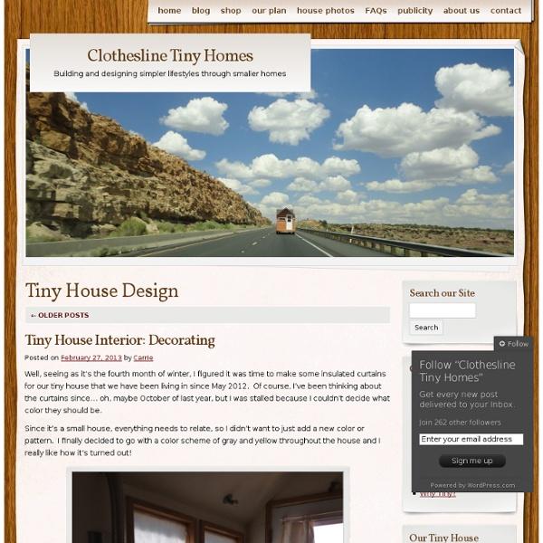 Clothesline Tiny Homes