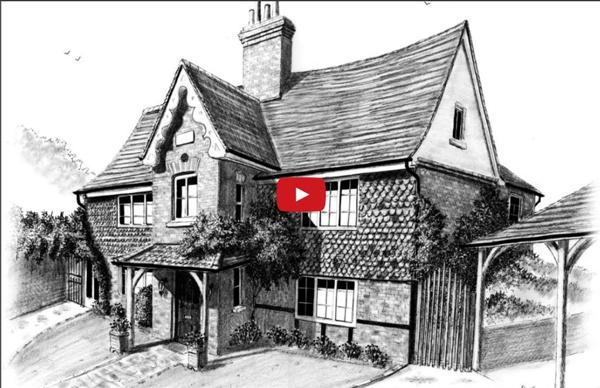 Comment dessiner une maison avec perspective ?