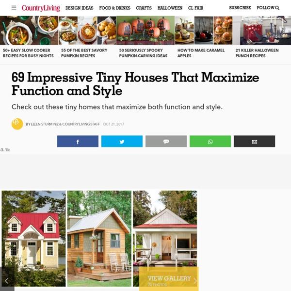 50 Impressive Tiny Houses 2016 - Small House Plans
