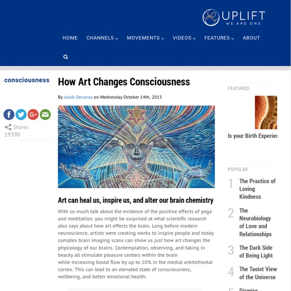 How Art Changes Consciousness