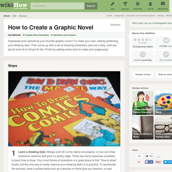 How to Create a Graphic Novel: 12 Steps