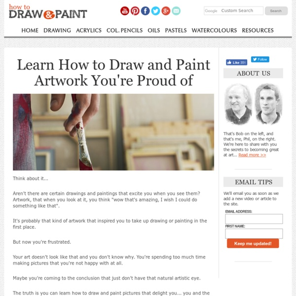 Discover How to Draw & Paint Whatever You Want