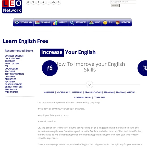 how to improve writing skills in english free