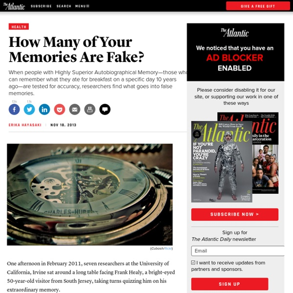 How Many of Your Memories Are Fake? - Erika Hayasaki