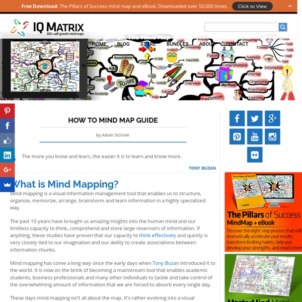 How to Mind Map: Beginner's Guide
