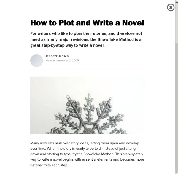 How to write the plot of a story
