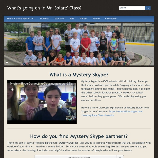 How to Set Up and Run a Mystery Skype Session