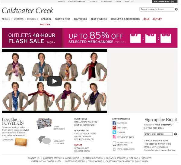 Coldwater creek printable coupons 2018