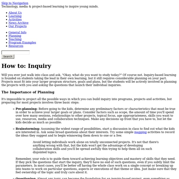 How to: Inquiry