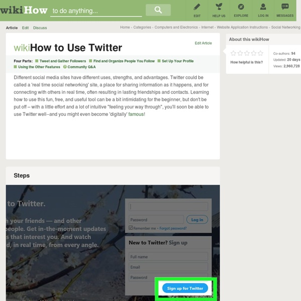 How to Use Twitter (with Cheat Sheet)