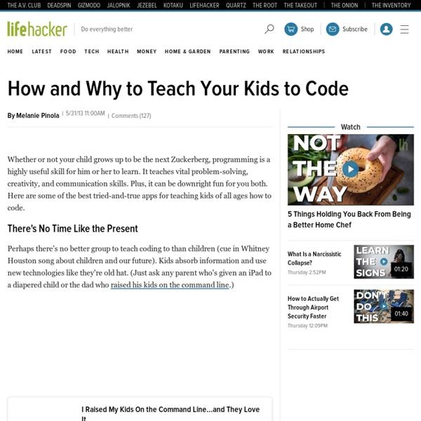 How & Why Teach Kids to Code