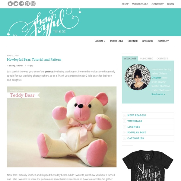 Bear: Tutorial & Pattern
