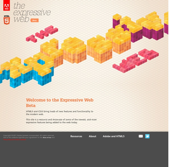 CSS3 gradients - Adobe - The Expressive Web - Beta