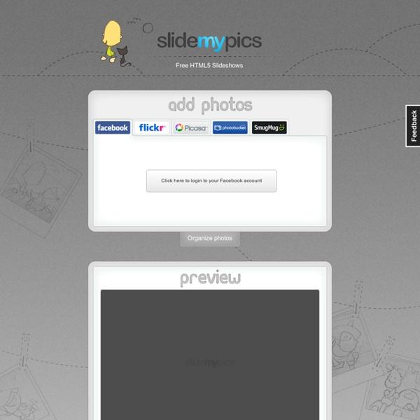 Free HTML5 Slideshows - SlideMyPics
