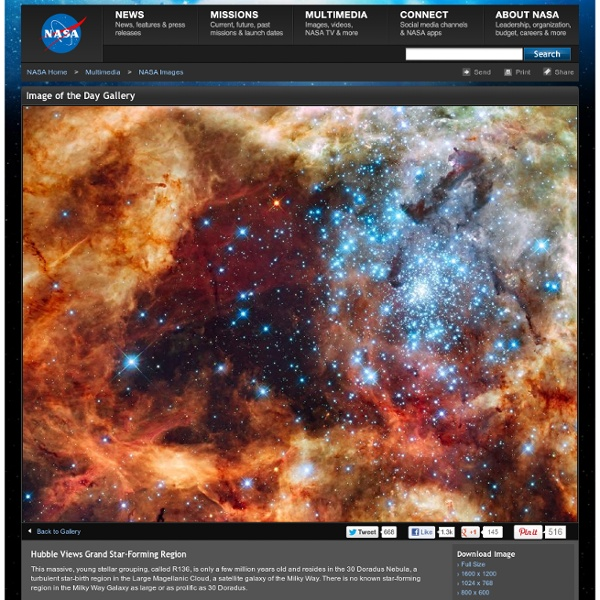 Hubble Views Grand Star-Forming Region