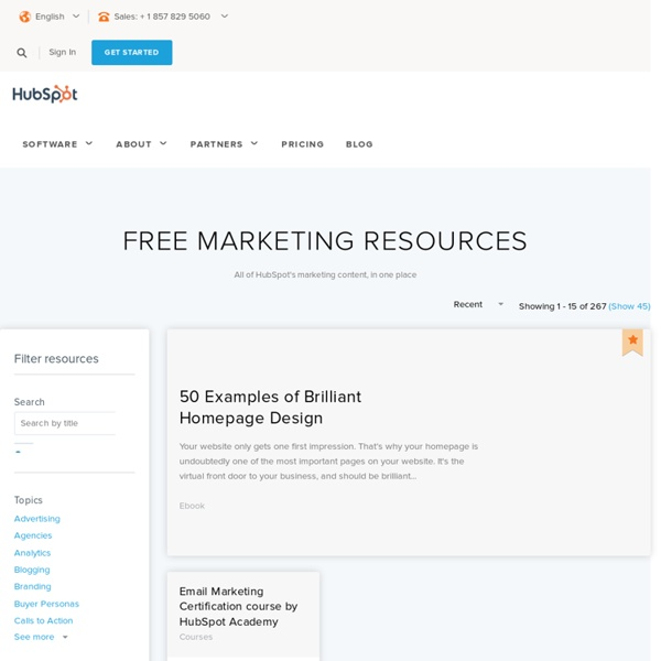 Marketing Resources Library