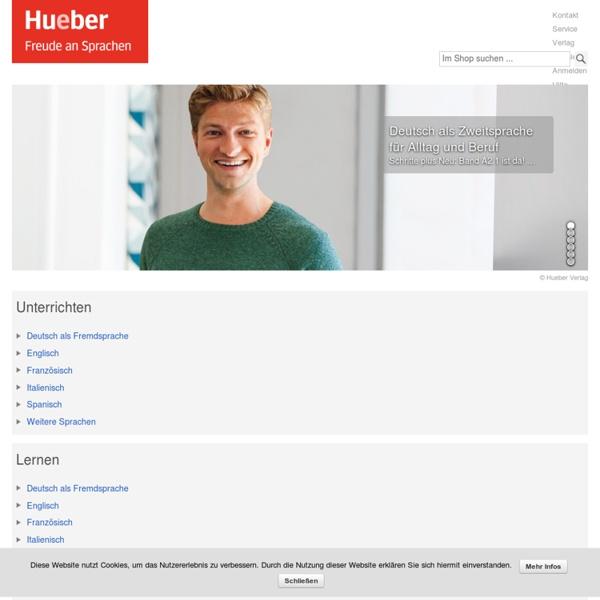 Hueber - Freude an Sprachen