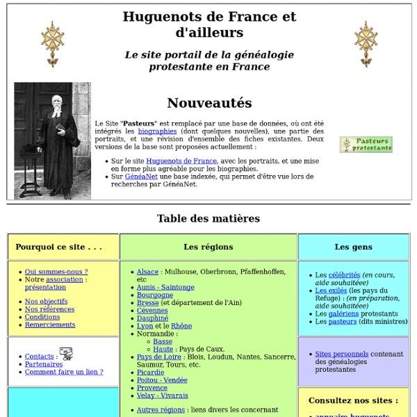 Huguenots de France