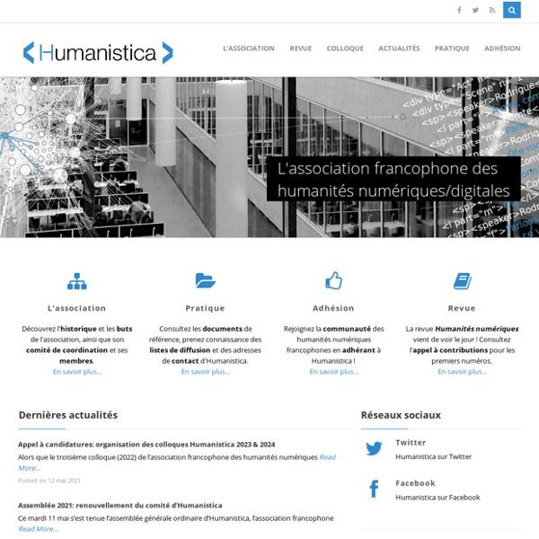 Association francophone des humanités numériques