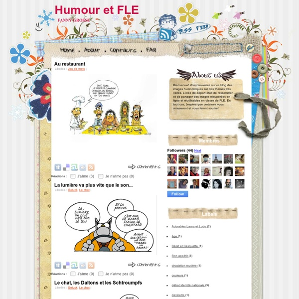 Humour et FLE