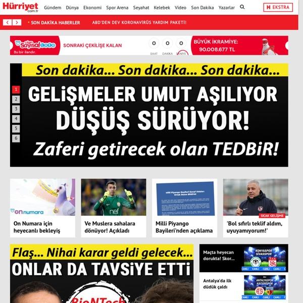 Hürriyet Gazetesi - Son Dakika Haberleri, Analizler ve Köşe Yazıları