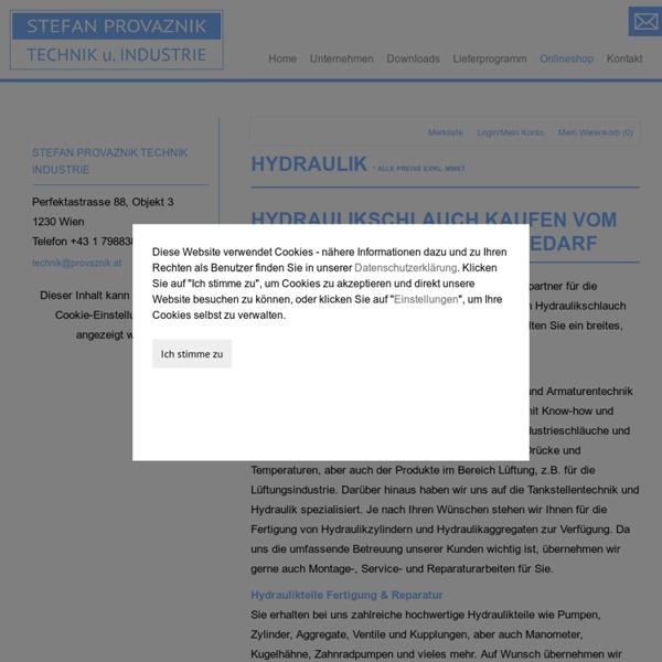 Hydraulikschlauch bestellen