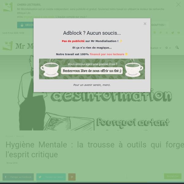 Hygiène Mentale : la trousse à outils qui forge l'esprit critique
