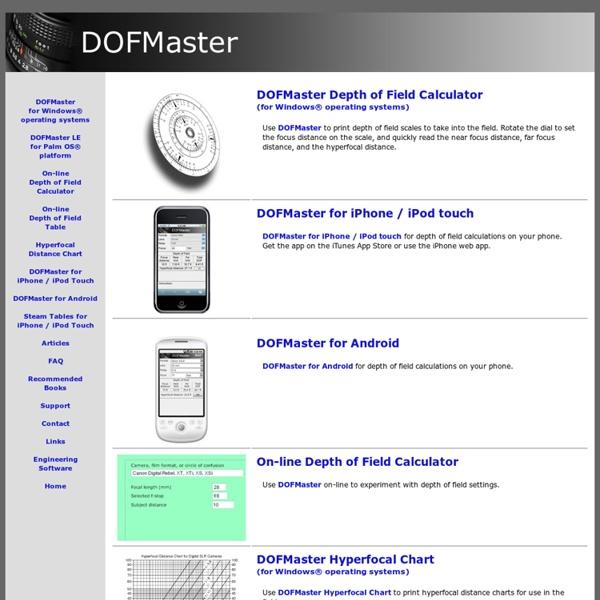 dofmaster para android