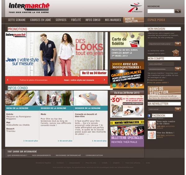 intermarch promotions services et courses en ligne pearltrees. Black Bedroom Furniture Sets. Home Design Ideas