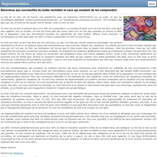 Hypersensibles - Surchauffe du bulbe