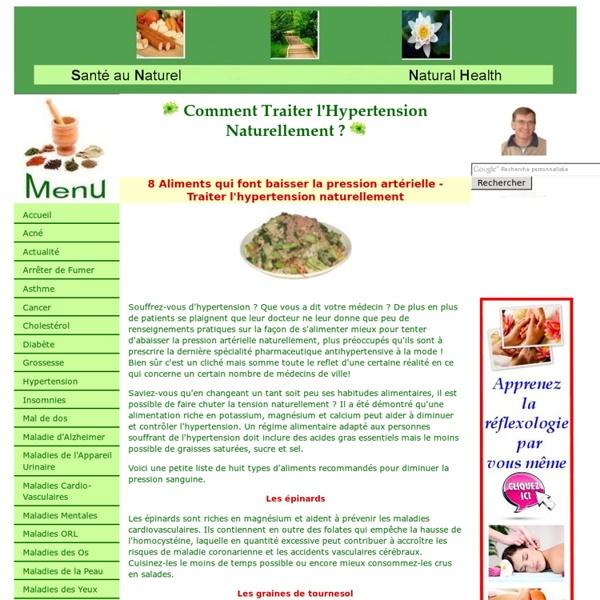 8 aliments qui font baisser la pression artérielle - traiter l'hypertension naturellement