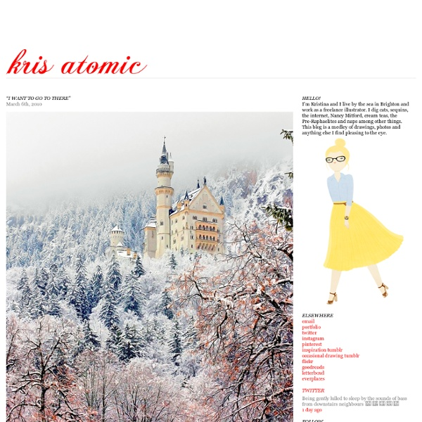 """""""I want to go to there"""" « KRISATOMIC"""