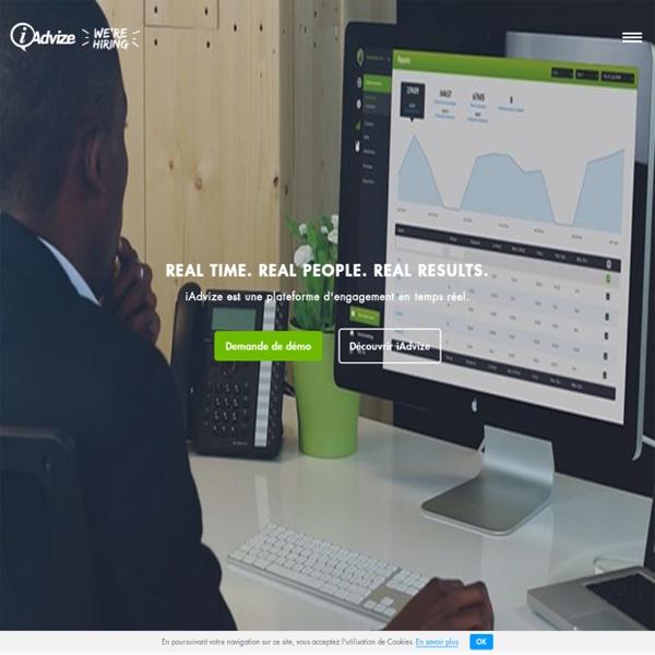 Plateforme d'engagement client en temps réel.