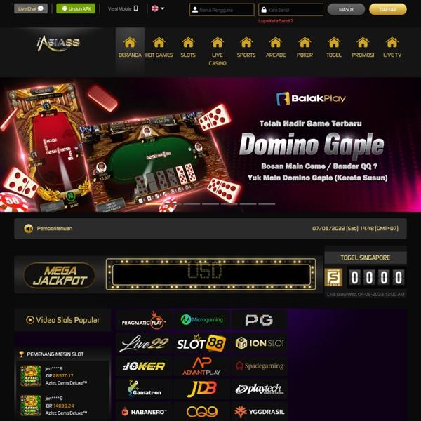 iAsia88: Agen Judi Online, Bandar Judi Bola, Slot Online