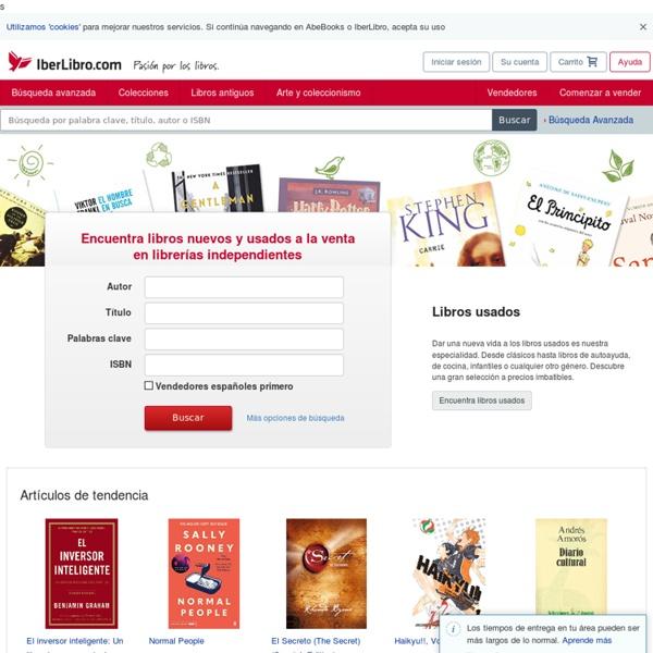 IberLibro.com: libros nuevos, antiguos, agotados y de ocasión