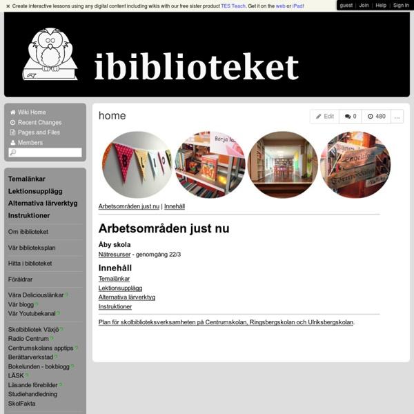 Ibiblioteket - home