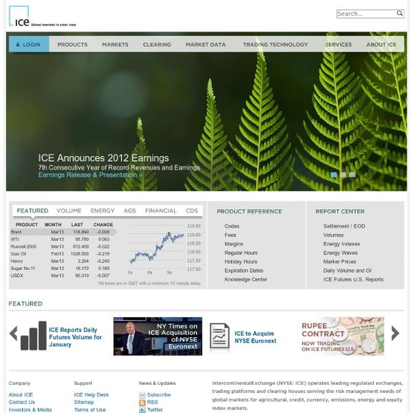 ICE: Homepage