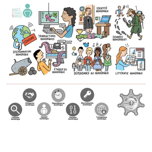 Identité citoyenneté numérique : 4e / 3e