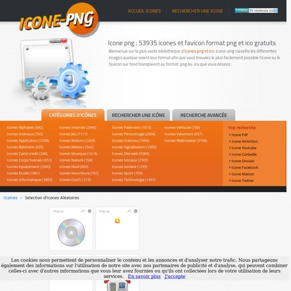 Icone & png : 53935 icones et favicon format png et ico gratuits