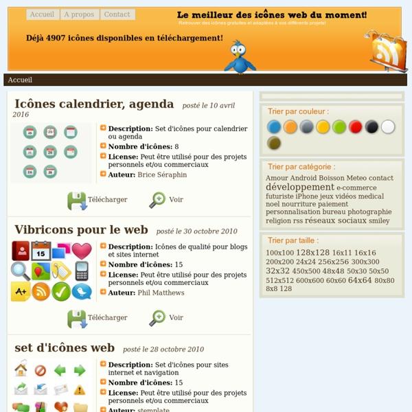 IconesGratuites.fr - les meilleures icônes gratuites du web