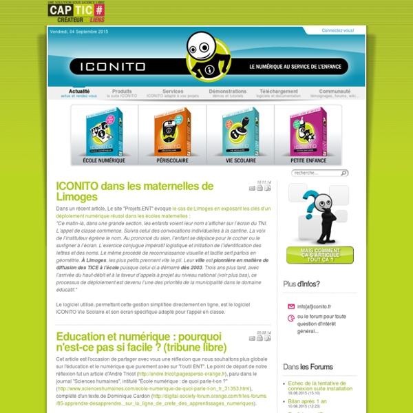 ICONITO - Bienvenue sur Iconito