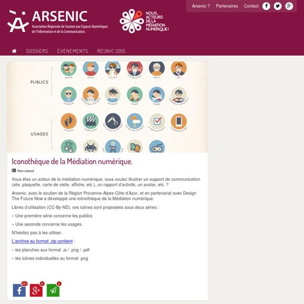 Iconothèque de la Médiation numérique. - ARSENIC