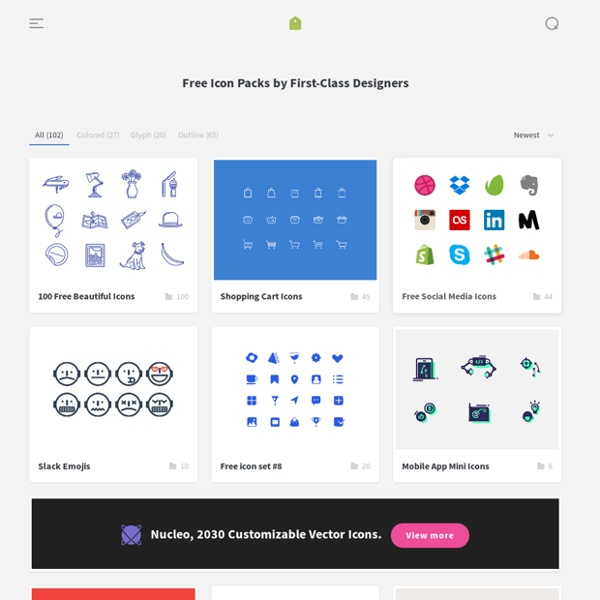 IconStore - Free icons by first-class designers