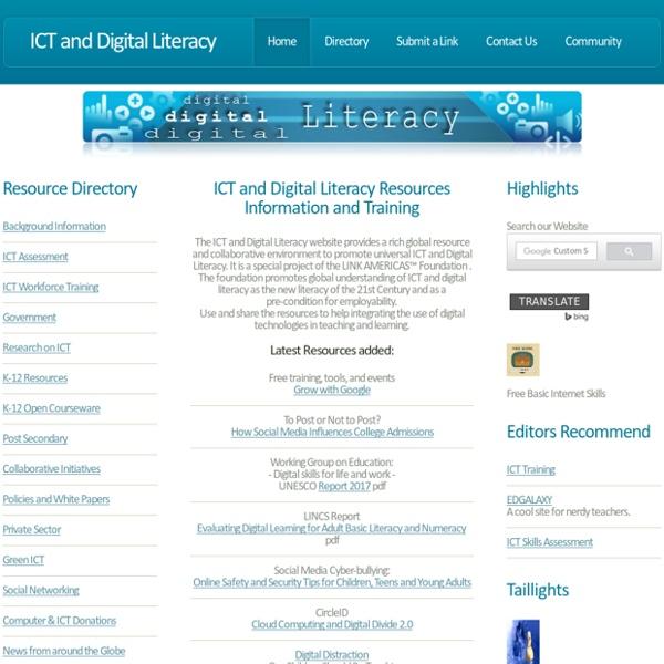 ICT Digital Literacy